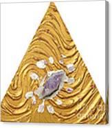 Golden Flow Creator Canvas Print