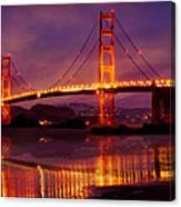 Golden Gate At Bakers Beach Canvas Print