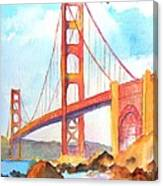 Golden Gate Bridge 3 Canvas Print
