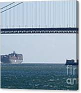 Golden Gate Bridge 3 Canvas Print