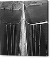Golden Gate Bridge In 1937 Canvas Print