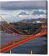 Golden Gate Bridge Overlook Canvas Print