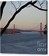 Golden Gate Bridge - San Francisco California Canvas Print