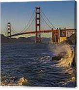 Golden Gate Bridge Sunset Study 2 Canvas Print