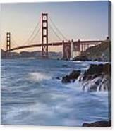 Golden Gate Bridge Sunset Study 5 Canvas Print