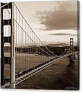 Golden Gate Glory Canvas Print