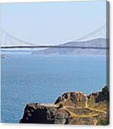 Golden Gate Panorama 8027 8030 Canvas Print