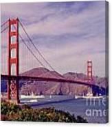 Golden Gate San Francisco Canvas Print