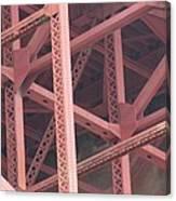 Golden Gate's Skeleton Canvas Print