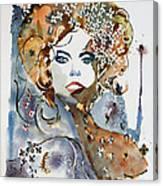 Golden Girl Canvas Print