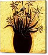 Golden Glories Canvas Print