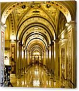 Golden Government Canvas Print