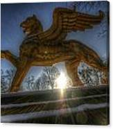 Golden Griffin Canvas Print
