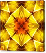 Golden Harmony - 3 Canvas Print