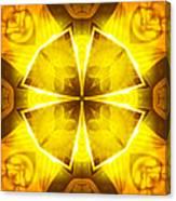 Golden Harmony - 4 Canvas Print