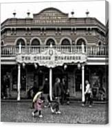 Golden Horseshoe Frontierland Disneyland Sc Canvas Print
