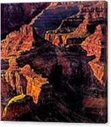 Golden Hour Mather Point Grand Canyon National Park Canvas Print