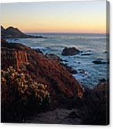 Golden Hour On Garrapata Canvas Print
