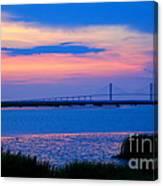 Golden Isles Bridge Canvas Print