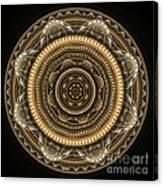 Golden Mandala Canvas Print