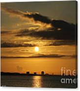 Golden Morning Canvas Print