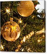 Golden Ornaments Canvas Print