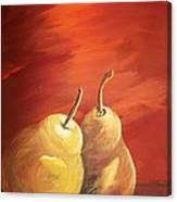 Golden Pear's Canvas Print