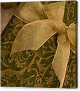 Golden Present Canvas Print