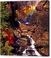 Golden Rainbow Canvas Print