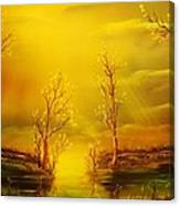 Golden Rays-original Sold-buy Giclee Print Nr 35 Of Limited Edition Of 40 Prints  Canvas Print