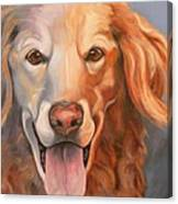 Golden Retriever Till There Was You Canvas Print