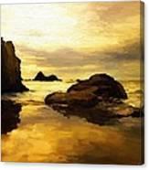 Golden Sands Canvas Print