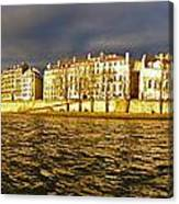 Golden Seine Canvas Print