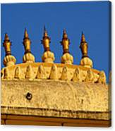 Golden Spires Udaipur City Palace India Canvas Print