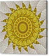 Golden Sun Canvas Print