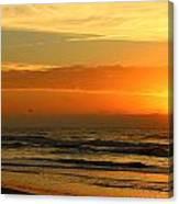 Golden Sun Up Canvas Print