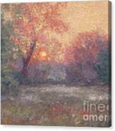 Golden Sunrise - June Canvas Print