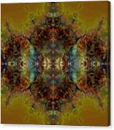 Golden Tapestry Canvas Print