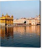 Golden Temple And Akal Takht Canvas Print