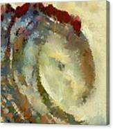 Golden Wave Canvas Print