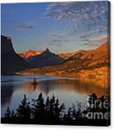 Golden Wild Goose Island Canvas Print