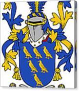 Golding Coat Of Arms Irish Canvas Print
