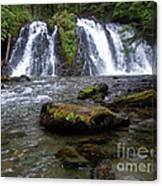 Goldrush Falls Canvas Print