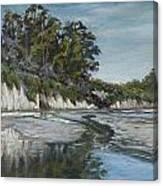 Goleta Reflections Canvas Print