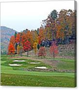 Golf Course At Lake Toxaway Canvas Print