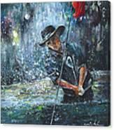 Golf Delirium Nocturnum 02 Canvas Print