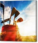 Golf Equipment  Canvas Print