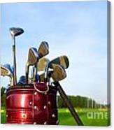 Golf Gear Canvas Print