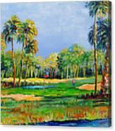 Golf In The Tropics Canvas Print