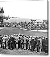 Golf Play At St. Andrews. Canvas Print